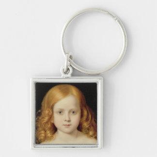 Portrait of the Artist's Daughter Keychain