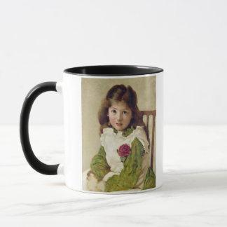 Portrait of the Artist's Daughter (oil on canvas) Mug