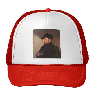 Portrait of the Artist's Father by Gustave Courbet Trucker Hat