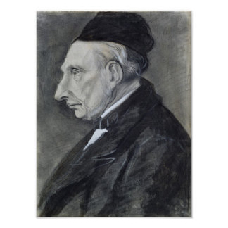 Portrait of the Artist's Grandfather, 1881 Poster
