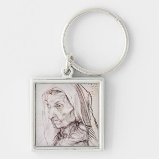 Portrait of the artist's mother, 1514 keychain