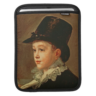 Portrait of the Artist's Mother and Sister iPad Sleeve
