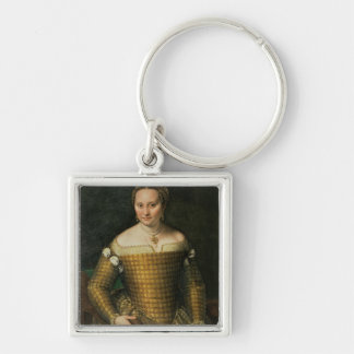 Portrait of the artist's mother keychain