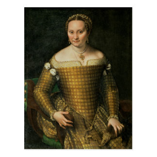 Portrait of the artist's mother postcard
