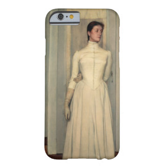 Portrait of the artist's sister, Marguerite Khnopf Barely There iPhone 6 Case