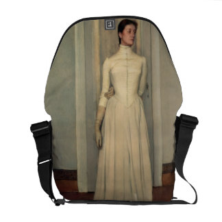 Portrait of the artist's sister, Marguerite Khnopf Courier Bag