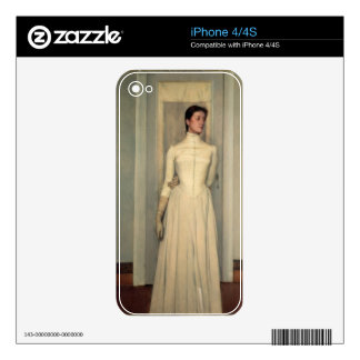 Portrait of the artist's sister, Marguerite Khnopf Skins For The iPhone 4S