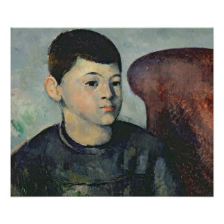 Portrait of the artist's son, 1881-82 poster