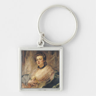 Portrait of the Artist's Wife Keychain
