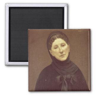 Portrait of the artist's wife, Madame de Chavannes Magnet