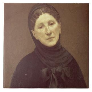 Portrait of the artist's wife, Madame de Chavannes Tile