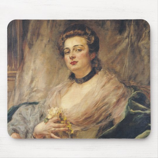 Portrait of the Artist's Wife Mouse Pad