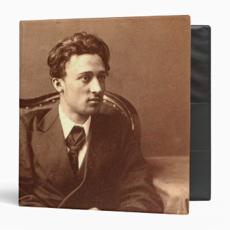 Portrait of the author binder