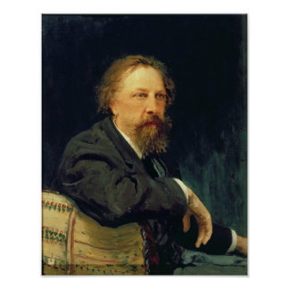 Portrait of the Author Count Alexey K. Tolstoy Poster