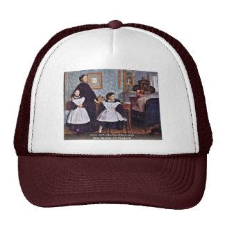 Portrait Of The Bellelli Family By Edgar Degas Trucker Hat