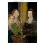 Portrait of the Bronte Sisters, c.1834 Greeting Card