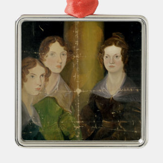 Portrait of the Bronte Sisters, c.1834 Metal Ornament