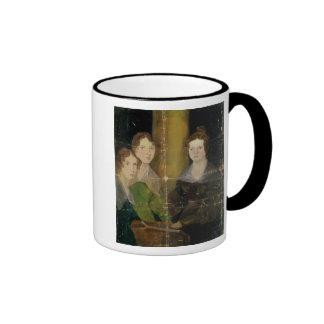 Portrait of the Bronte Sisters, c.1834 Ringer Mug
