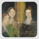 Portrait of the Bronte Sisters, c.1834 Sticker