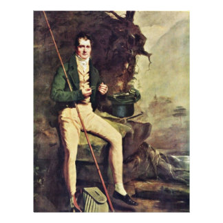 Portrait Of The Bryce Mcmurdo By Raeburn Sir Henry Custom Flyer