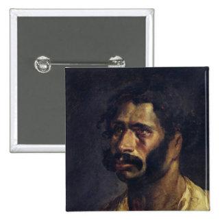 Portrait of the Carpenter of 'The Medusa' 2 Inch Square Button