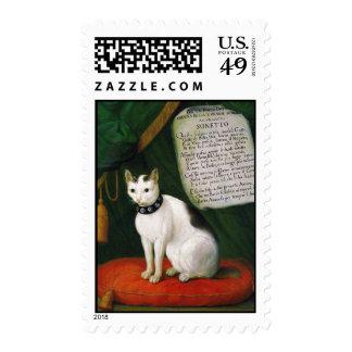 Portrait of the Cat Armellino Stamp