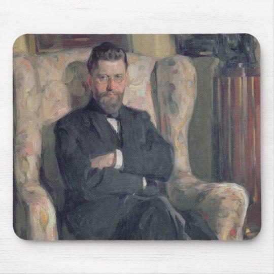 Portrait of the collector Alexei A. Bakhrush Mouse Pad