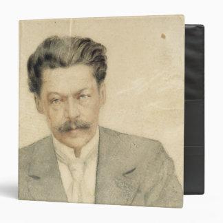 Portrait of the composer Anton Arensky Vinyl Binder