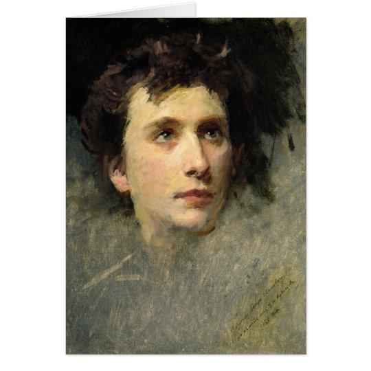 Portrait of the composer Pyotr Ilyich Card