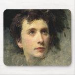Portrait of the composer Pyotr Ilyich Mousepad