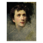 Portrait of the composer Pyotr Ilyich Posters