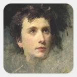 Portrait of the composer Pyotr Ilyich Sticker