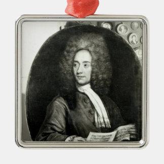 Portrait of the Composer Tomaso Giovanni Christmas Tree Ornaments