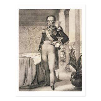 Portrait of the Comte de Bourmont (1773-1846), Com Postcard