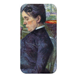 Portrait of the Countess by Toulouse-Lautrec iPhone 4/4S Covers