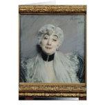Portrait of the Countess de Martel de Janville Card