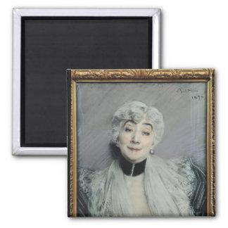 Portrait of the Countess de Martel de Janville Magnet