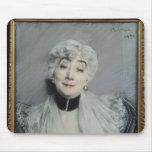 Portrait of the Countess de Martel de Janville Mouse Pad