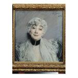 Portrait of the Countess de Martel de Janville Postcard