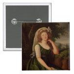 Portrait of the Countess du Barry  1789 Pinback Buttons