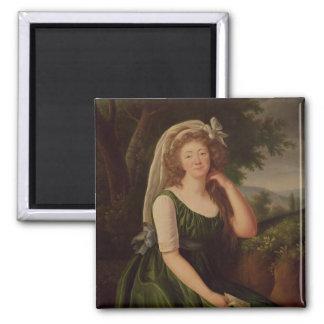 Portrait of the Countess du Barry  1789 Magnet