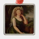 Portrait of the Countess du Barry  1789 Ornament