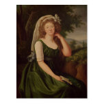 Portrait of the Countess du Barry  1789 Post Cards