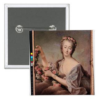 Portrait of the Countess du Barry  as Flora Button