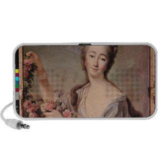 Portrait of the Countess du Barry  as Flora Notebook Speaker