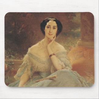 Portrait of the Countess of Hallez-Claparede Mousepad
