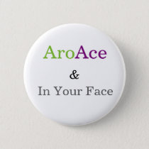 portrait of the crab as a young ace pinback button