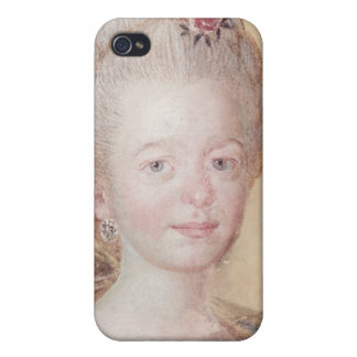 Portrait of the daughter of Carl Linnaeus Cover For iPhone 4