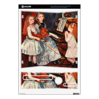 Portrait of the daughter of Catulle-Mendes -Renoir Skin For The Xbox 360 S