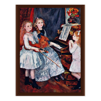 Portrait Of The Daughters Of Catulle-Mendes Post Cards
